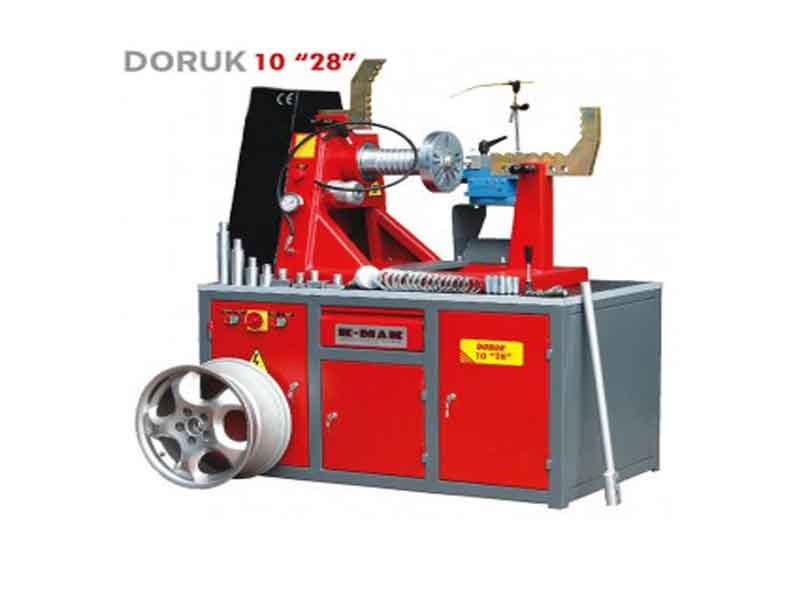 Straighten the rim